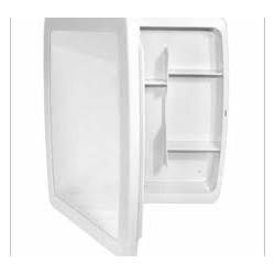 Armário HERC wc porta reversivel 34x37x10 branco ref. 2650
