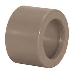 Bucha de redução marrom curta 25 x 20 mm PLASTUBOS