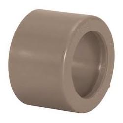 Bucha de redução marrom curta 32 x 25 mm PLASTUBOS