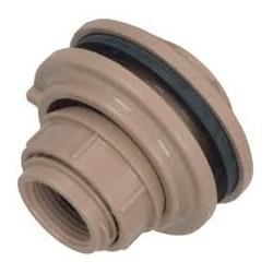 Adaptador p/ caixa dágua 50 mm PLASTUBOS