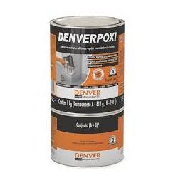 Adesivo estrutural base epóxi DENVERPOXI 1 kg.